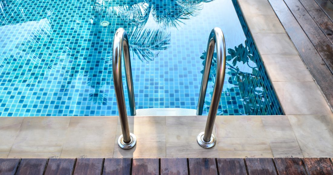 22169783 - swimming pool with stair